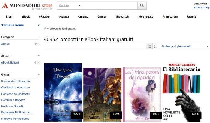 Ebook Mondadori Gratis